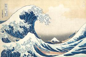 Original Print, Hokusai, c. 1830